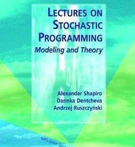 درسهایی در برنامه ریزی احتمالی: مدل سازی و تئوری
