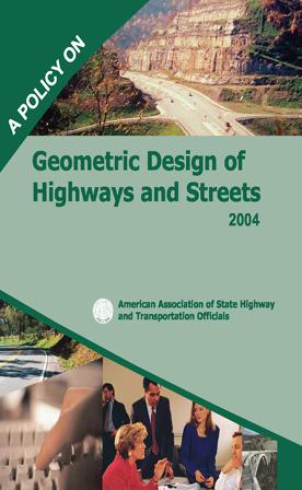 طرح هندسی برای بزرگراه ها و جاده ها آشتو 2004