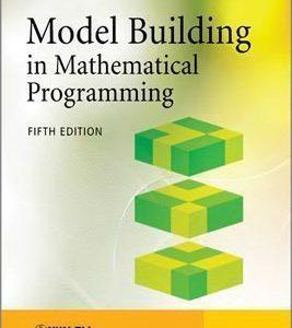 ساخت مدل در برنامه ریزی ریاضی