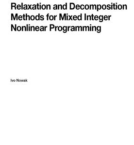 روش های آزادسازی و تجزیه برای برنامه نویسی غیرخطی عدد صحیح مختلط