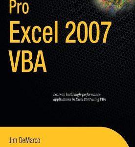 برنامه نویسی پیشرفته در اکسل 2007